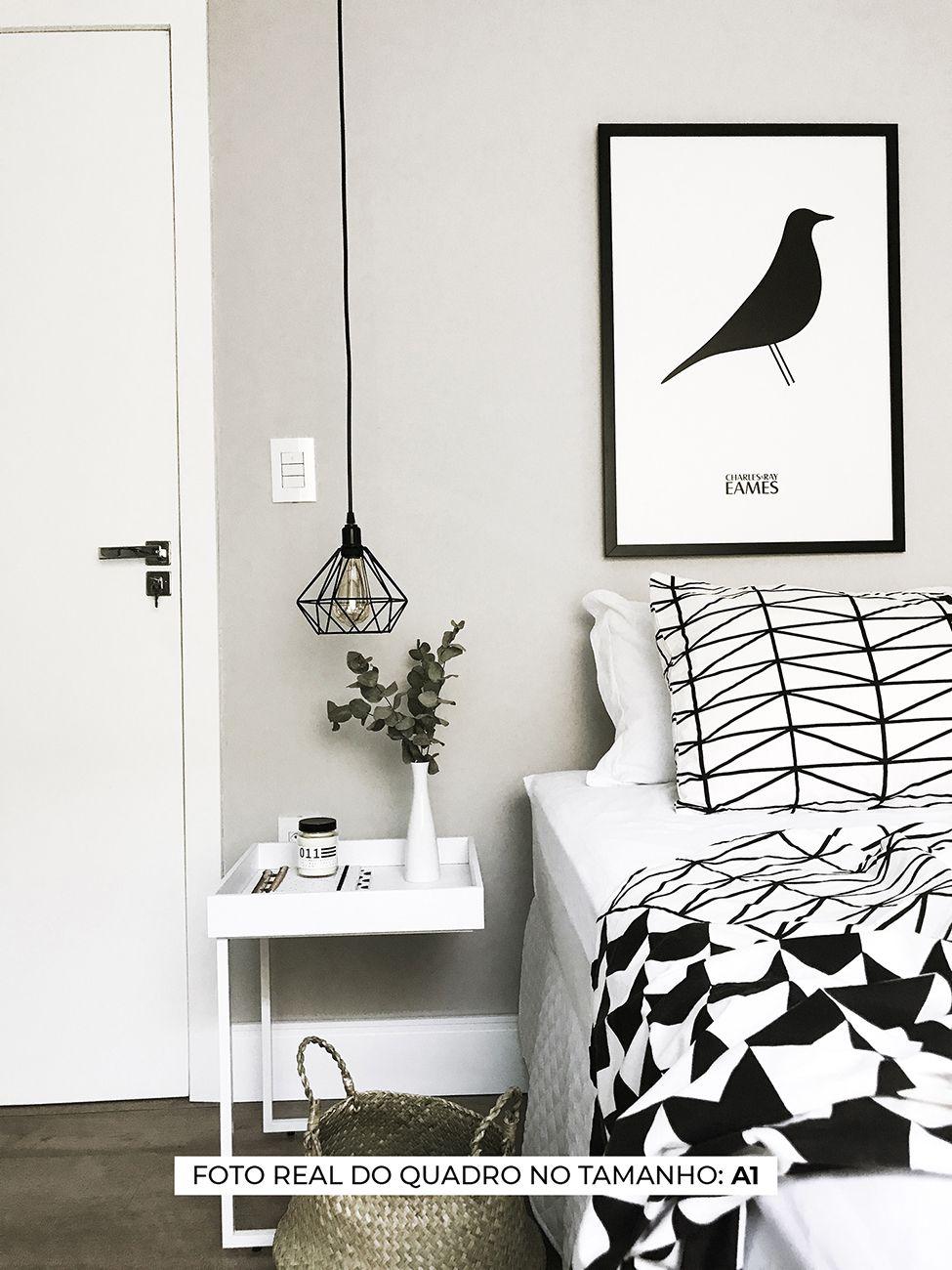 QUADRO EAMES BIRD decorativos