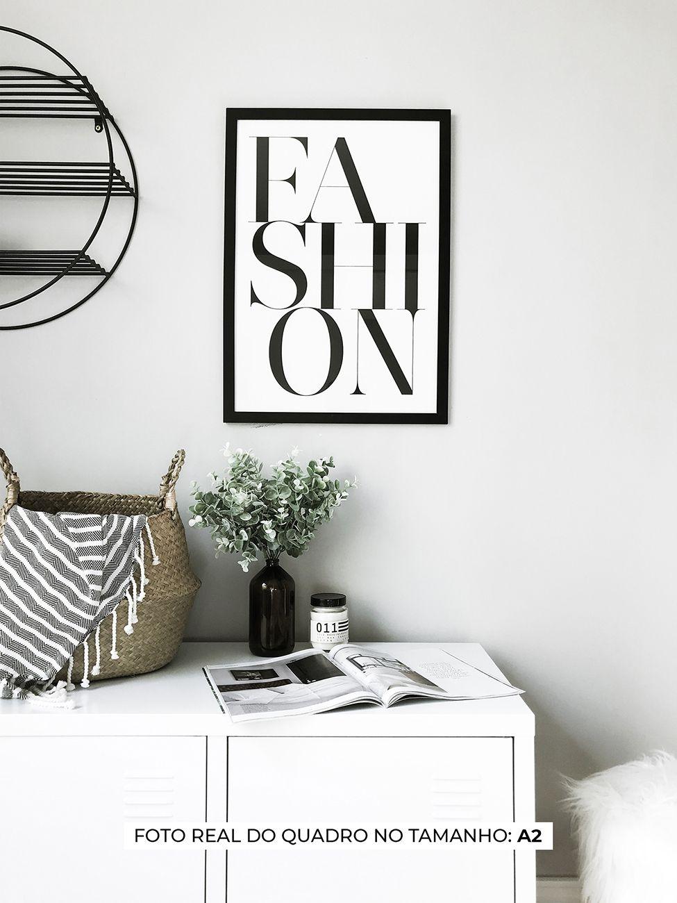 QUADRO FASHION decorativos