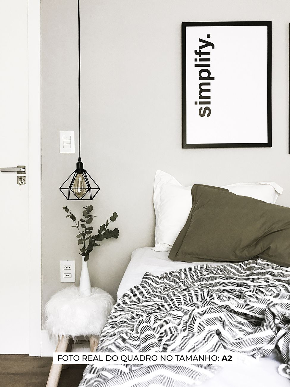 QUADRO SIMPLIFY decorativos