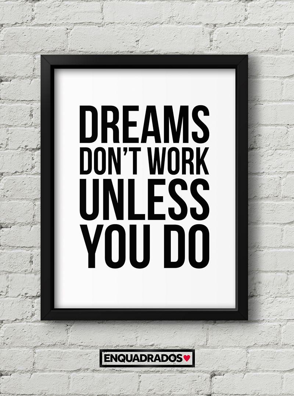 QUADRO DREAMS DONT WORK