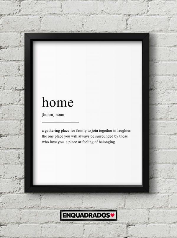 QUADRO HOME decorativos