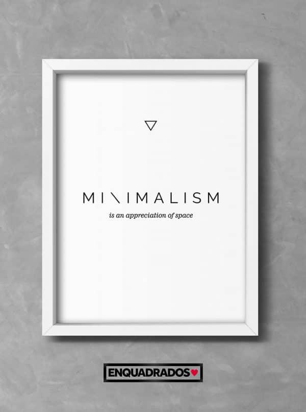 QUADRO MINIMALISM decorativos
